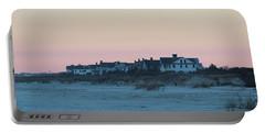 Beach Houses Portable Battery Charger by Cynthia Guinn
