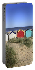 Southwold Beach Huts Uk Portable Battery Charger