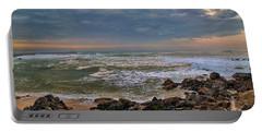 Beach Landscape Portable Battery Charger