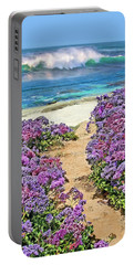 Beach Pathway Portable Battery Charger