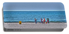 Beach Time - Atlantic Ocean Portable Battery Charger