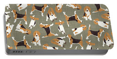 Beagle Scatter Stone Portable Battery Charger
