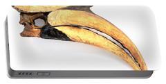 Beak Of Great Hornbill Buceros Bicornis Portable Battery Charger by Steve Gorton / Dorling Kindersley