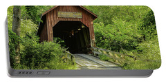 Bean Blossom Covered Bridge Portable Battery Charger