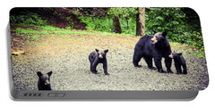 Bear Family Affair Portable Battery Charger
