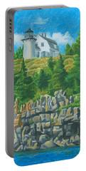 Bear Island Lighthouse Portable Battery Charger