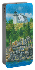 Bear Island Lighthouse Portable Battery Charger