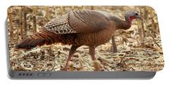 Bearded Wild Turkey Hen Portable Battery Charger