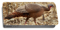 Bearded Wild Turkey Hen Portable Battery Charger