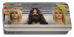 Bearded Lady Portable Battery Charger