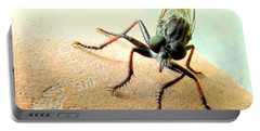 Bearded Robber Fly Portable Battery Charger