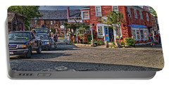 Bearskin Neck Portable Battery Charger by Mark Myhaver