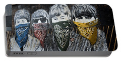 Beatles Street Mural Portable Battery Charger