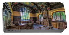 Portable Battery Charger featuring the photograph Beautiful 17th Century Chapel by Adrian Evans