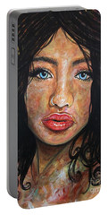 Beautiful Ambiguity Portable Battery Charger by Malinda  Prudhomme