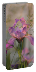 Beautiful And Mystical Iris  Portable Battery Charger