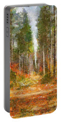 Beautiful Autumn Portable Battery Charger by Dragica  Micki Fortuna