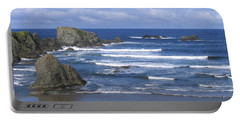 Portable Battery Charger featuring the photograph Beautiful Bandon Beach by Will Borden