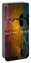 Beautiful Dancer Portable Battery Charger by Absinthe Art By Michelle LeAnn Scott