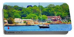 Beautiful Day For Sailing Portable Battery Charger