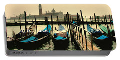 Portable Battery Charger featuring the photograph Beautiful Day In Venice by Brian Reaves