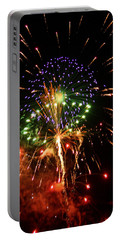 Beautiful Fireworks Works Portable Battery Charger