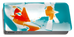 Portable Battery Charger featuring the photograph Fixed Wing Aircraft Pop Art Poster by R Muirhead Art
