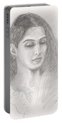 Beautiful Indian Woman Portable Battery Charger