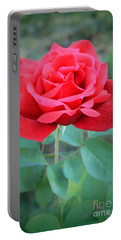 Beautiful Morning Rose  Portable Battery Charger