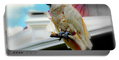 Beautiful Salmon-crested Cockatoo Portable Battery Charger