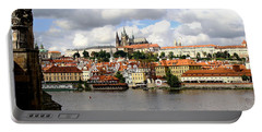Portable Battery Charger featuring the photograph Beautiful Prague by Ira Shander