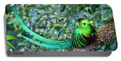 Beautiful Quetzal 3 Portable Battery Charger