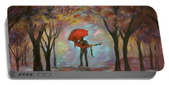 Beautiful Romance Portable Battery Charger