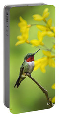 Beautiful Summer Hummer Portable Battery Charger