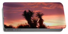 Beautiful Sunset In Arizona Portable Battery Charger