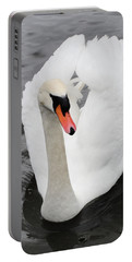 Portable Battery Charger featuring the photograph Beautiful Swan by Tiffany Erdman