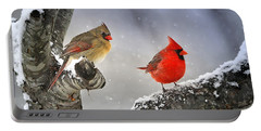 Portable Battery Charger featuring the photograph Beautiful Together by Nava Thompson