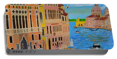 Beautiful Venice Portable Battery Charger by Magdalena Frohnsdorff