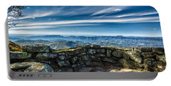Beautiful View Of Mountains And Sky Portable Battery Charger
