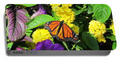 Portable Battery Charger featuring the photograph Beauty All Around by Cynthia Guinn