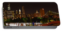 Beauty From Brooklyn Bridge Park Portable Battery Charger
