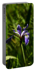 Beauty In The Grass Portable Battery Charger