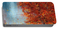 Beauty Of It- Autumn Impressionism Portable Battery Charger