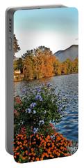 Beauty Of Lake Lugano Portable Battery Charger