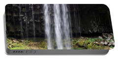 Portable Battery Charger featuring the photograph Beaver Falls by Chalet Roome-Rigdon