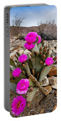 Beavertail Blooms Portable Battery Charger