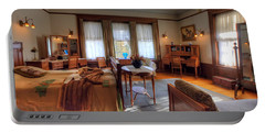 Bedroom Glensheen Mansion Duluth Portable Battery Charger by Amanda Stadther
