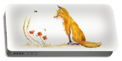 Bee A Summer Fox Portable Battery Charger