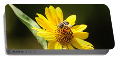 Bee Flower Portable Battery Charger