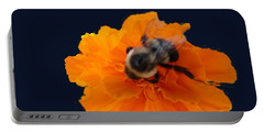 Bee Mining Gold Portable Battery Charger